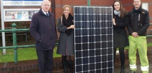 Attercliffe police station solar launch