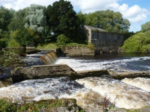 The 1920s hydro power station