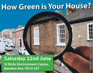 How Green Is Your House event poster crop