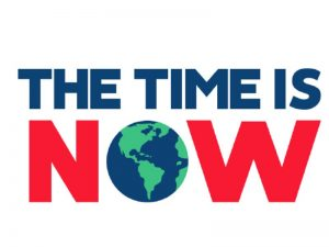Time is Now logo